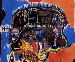 art, painting, and basquiat image