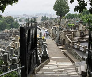 asia, cemetery, and japan image