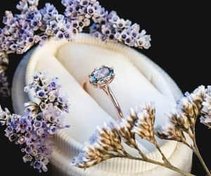 blue, purple, and crystal image
