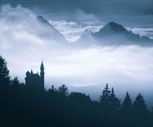 bavaria, castle, and fall asleep image