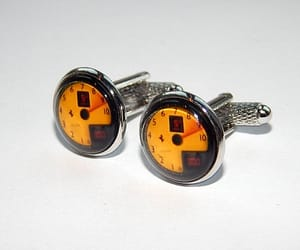 etsy, car cufflinks, and car jewelry image