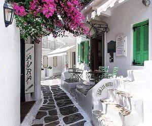 Greece, travel, and mykonos image