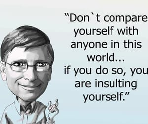 bill gates, life motto, and motivation image