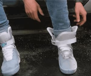 Back to the Future, films, and trainers image