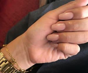 girls, nails, and pink image