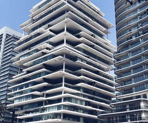 architecture, Beirut, and blue image
