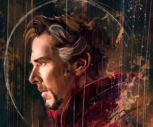 Marvel, doctor strange, and art image