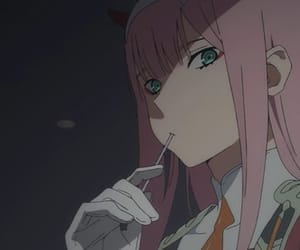 two, zero, and darling in the franxx image