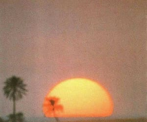 sunset, aesthetic, and vintage image