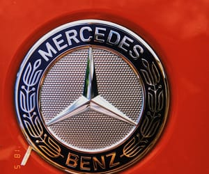 alternative, mercedes, and red image