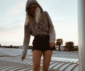 girl, grunge, and hoodie image