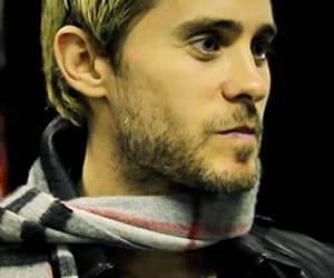 30 seconds to mars, blond, and gif image