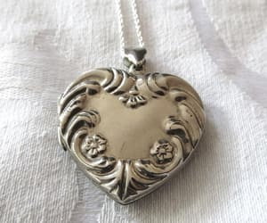 etsy, valentines day gift, and locket necklace image