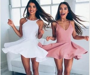besties, outfit, and cool image