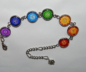 etsy, mandala, and yoga bracelet image
