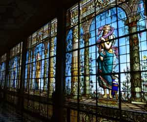 arte, museo, and vitral image