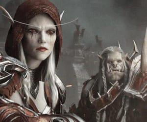 world of warcraft, battle for azeroth, and sylvanas brisaveloz image