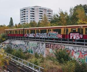 berlin, graffiti, and bomber image