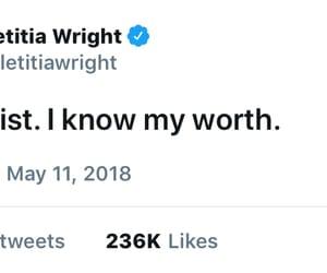 tweet, words, and self worth image