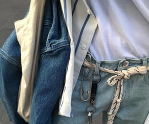 jeans, style, and aesthetic image