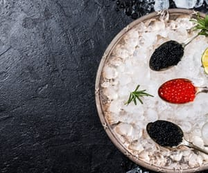 food, caviar, and food and drink image