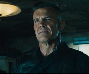 josh brolin, cable, and deadpool image