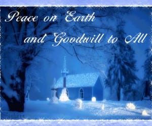 goodwill, holidays, and prayer image