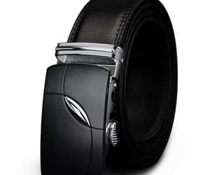 alloy buckle, belt, and leather belt image