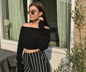 black, casual, and fashion image