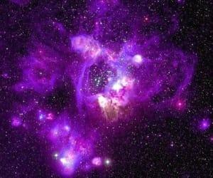 galaxy and purple image