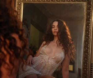 mirror, vintage, and sabrina claudio image