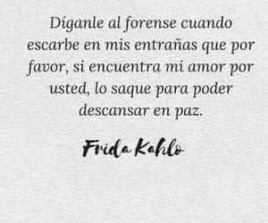 love, frases, and frida kahlo image