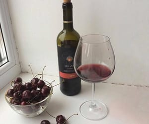 cherry and wine image