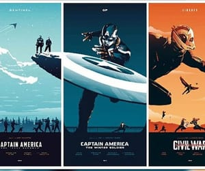 captain america, fanart, and Marvel image