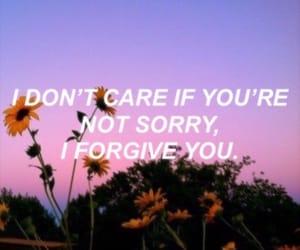 band, forgive, and forgiveness image