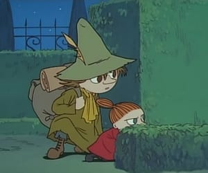 anime, art, and moomin valley image