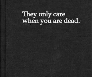 dead, care, and quote image