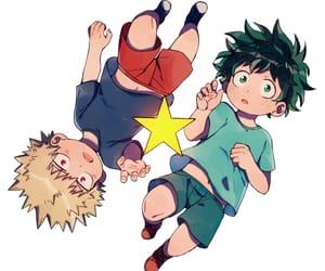 anime, boku no hero academia, and art image