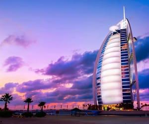 beach, Dubai, and travel image