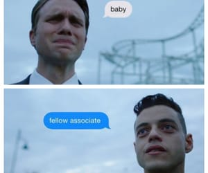 rami malek, martin wallström, and mr robot image