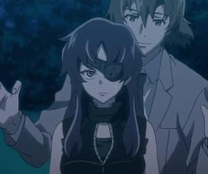 anime and mirai nikki image