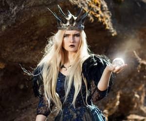 dark, fantasy, and royalty image