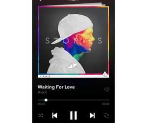 music, musica, and waiting for love image