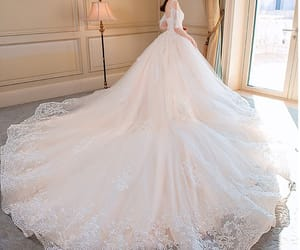 backless, ball gown, and champagne image