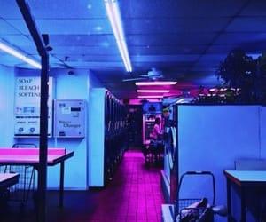 lights, neon, and vaporwave image