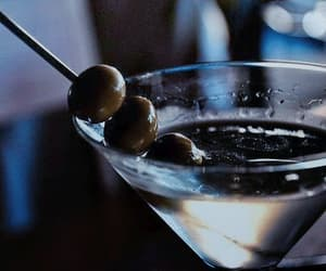 drink, martini, and cocktail image
