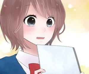black eyes, cartoons, and manga girls image