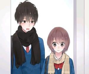 cartoons, manga girls, and cute wallpapers image