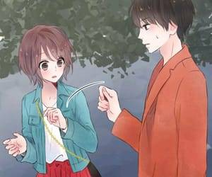 couples, cute couples, and manga image