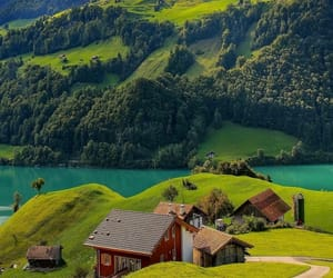 Alps, europe, and green image